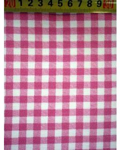 Canvas BB-ruit pink