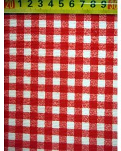 Canvas BB-ruit rood