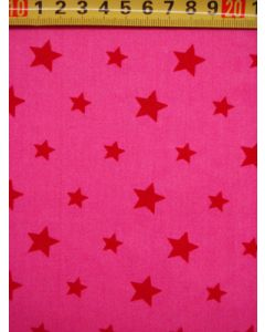 Color star pink-rood