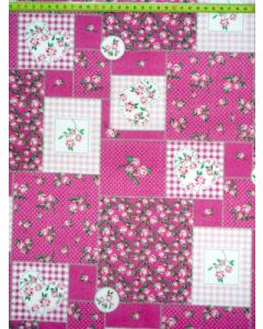 Daisy patch pink