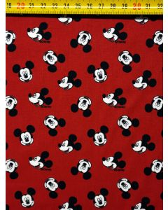 Micky Mouse d.rood